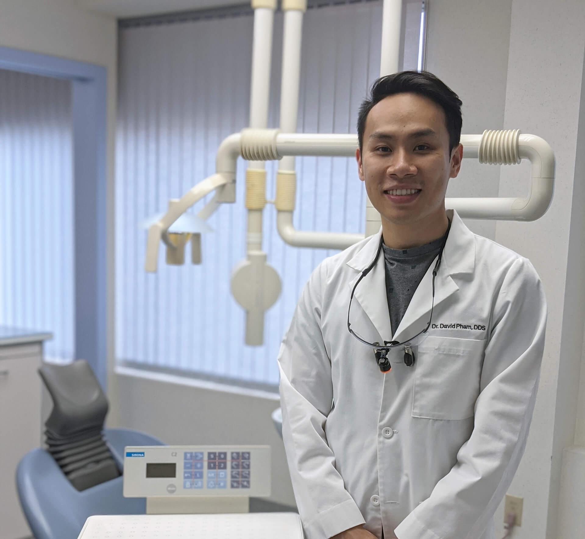 Dr. David Pham, HBSc, DDS Principal Dentist